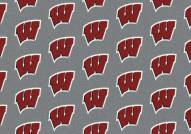 Wisconsin Badgers College Repeat Area Rug