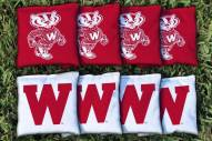 Wisconsin Badgers College Vault Cornhole Bag Set