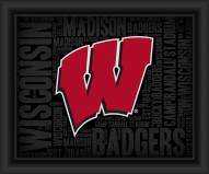 Wisconsin Badgers College Word Cloud