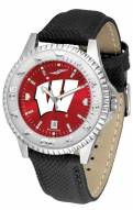 Wisconsin Badgers Competitor AnoChrome Men's Watch