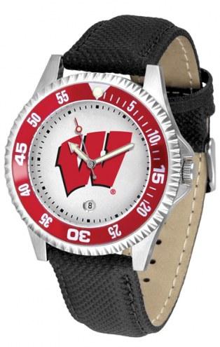 Wisconsin Badgers Competitor Men's Watch