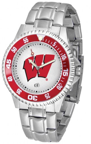 Wisconsin Badgers Competitor Steel Men's Watch