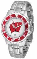 Wisconsin Badgers Competitor Steel Men's Watch