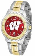 Wisconsin Badgers Competitor Two-Tone AnoChrome Men's Watch