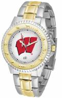 Wisconsin Badgers Competitor Two-Tone Men's Watch