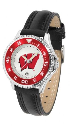 Wisconsin Badgers Competitor Women's Watch