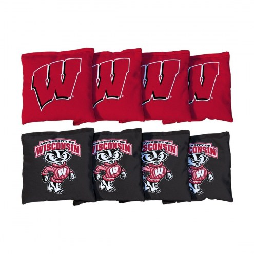 Wisconsin Badgers Cornhole Bag Set