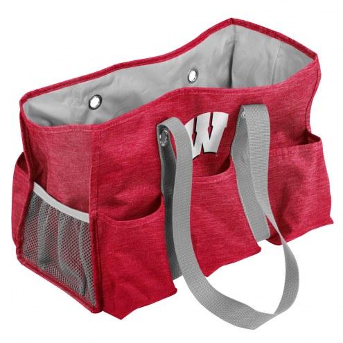 Wisconsin Badgers Crosshatch Weekend Bag