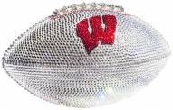 Wisconsin Badgers Swarovski Crystal Football