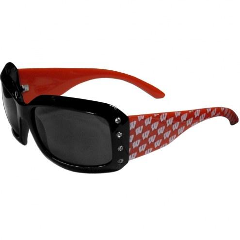 Wisconsin Badgers Designer Women's Sunglasses