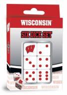 Wisconsin Badgers Dice Set