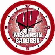 Wisconsin Badgers Dimension Wall Clock