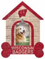 Wisconsin Badgers Dog Bone House Clip Frame