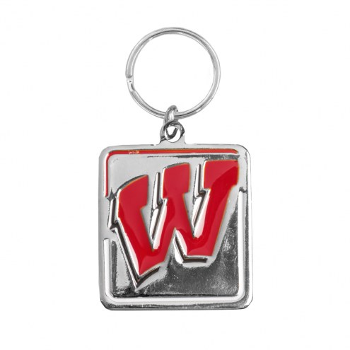 Wisconsin Badgers Dog Collar Charm