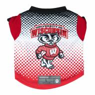 Wisconsin Badgers Dog Performance Tee