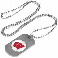 Wisconsin Badgers Dog Tag
