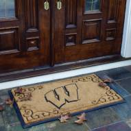 Wisconsin Badgers Door Mat