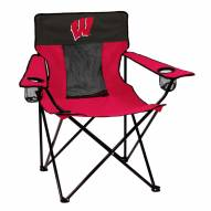 Wisconsin Badgers Elite Tailgating Chair