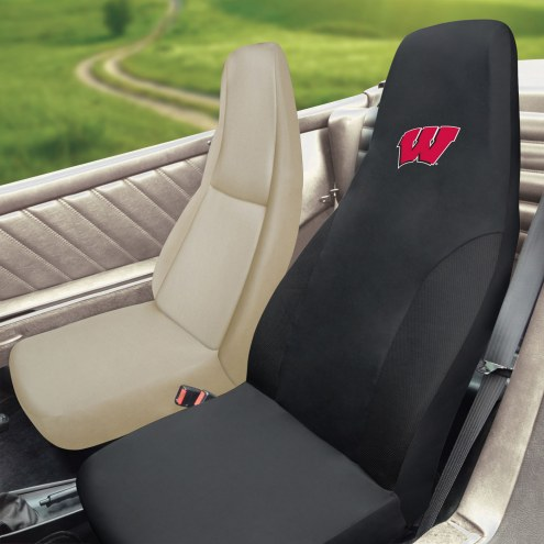 Wisconsin Badgers Embroidered Car Seat Cover