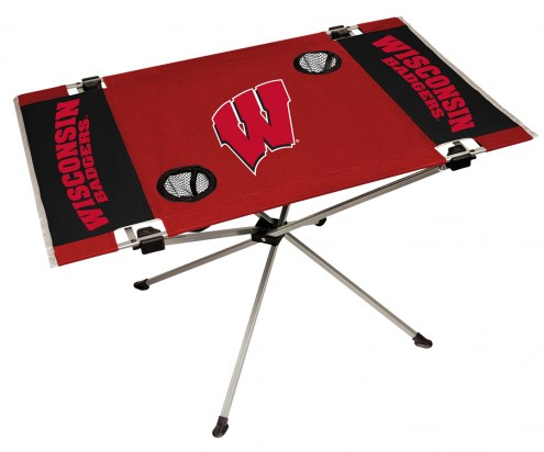 Wisconsin Badgers Endzone Table