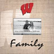 Wisconsin Badgers Family Picture Frame