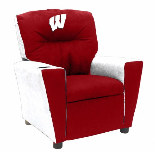 Wisconsin Badgers Fan Favorite Kid's Recliner