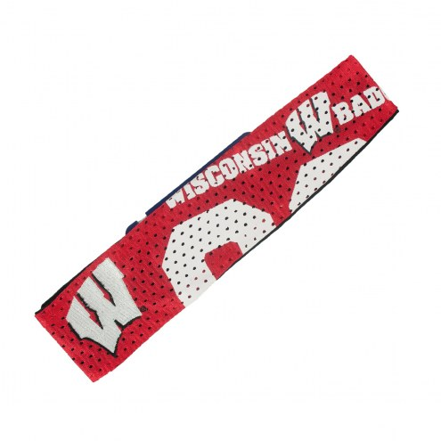 Wisconsin Badgers FanBand Jersey Headband
