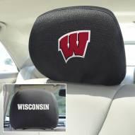 Wisconsin Badgers Headrest Covers