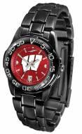 Wisconsin Badgers Fantom Sport AnoChrome Women's Watch