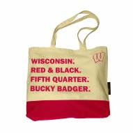 Wisconsin Badgers Favorite Things Tote