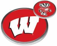 Wisconsin Badgers Flip Coin