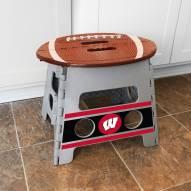 Wisconsin Badgers Folding Step Stool