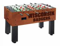 Wisconsin Badgers Foosball Table