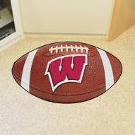 Wisconsin Badgers Football Floor Mat