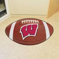 Wisconsin Badgers Football Floor Mat