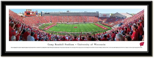 Wisconsin Badgers Framed Stadium Print
