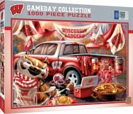 Wisconsin Badgers Gameday 1000 Piece Puzzle