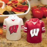 Wisconsin Badgers Gameday Salt and Pepper Shakers