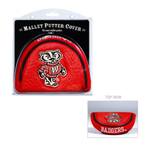 Wisconsin Badgers Golf Mallet Putter Cover