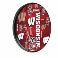 Wisconsin Badgers Digitally Printed Wood Sign