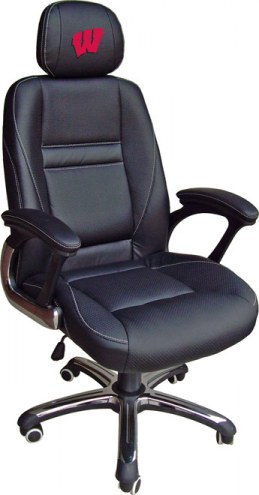Wisconsin Badgers Head Coach Office Chair