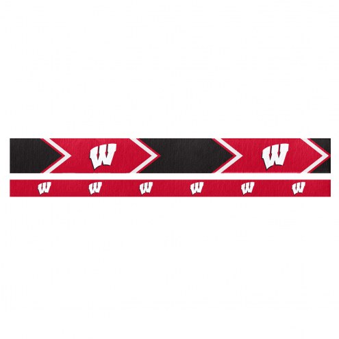 Wisconsin Badgers Headband Set