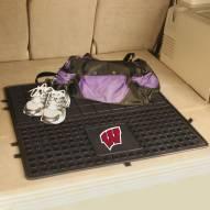Wisconsin Badgers Heavy Duty Vinyl Cargo Mat