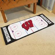 Wisconsin Badgers Hockey Rink Runner Mat
