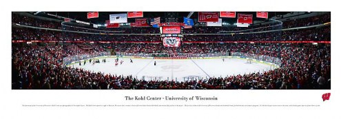 Wisconsin Badgers Hockey Unframed Panorama