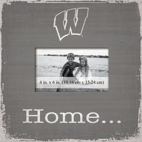 Wisconsin Badgers Home Picture Frame