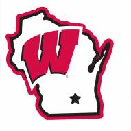 """Wisconsin Badgers Home State 11"""""""" Magnet"""