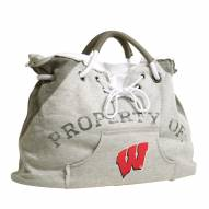 Wisconsin Badgers Hoodie Tote Bag