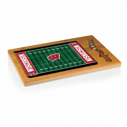 Wisconsin Badgers Icon Cutting Board