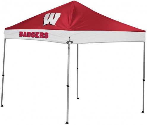 Wisconsin Badgers Rawlings 9' x 9' Canopy Tent